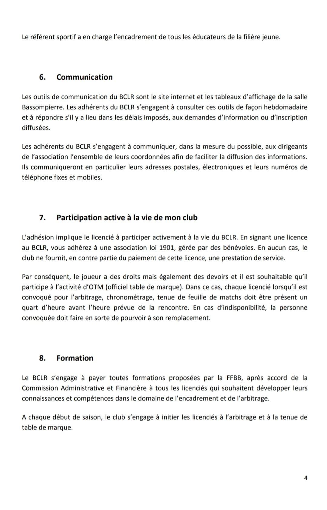 P4 Reglement